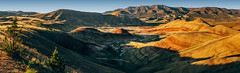 Sunset At Painted Hills (Pedalhead'71) Tags: sunset panorama oregon landscape us unitedstates mitchell paintedhills