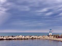 Trapani (martem@r) Tags: sunset sea italy storm beach italia mare sicily sicilia trapani