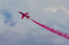 The Red Arrows - Weston-super-Mere 2016 (WatsonMike) Tags: aircraft transport aeroplane airdisplay theredarrows westonsupermere