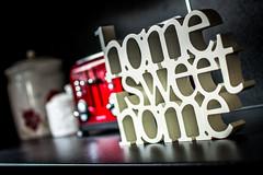 Home Sweet Home (fishyfish_arcade) Tags: kitchen nikon dof bokeh depthoffield homesweethome 35mmf18 d3200