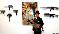 Dr. Takeshi Yamada and Seara (Coney Island Sea Rabboit) visited the Art NY at the Pier 94 in Manhattan, NY on May 3, 2016.  20160503Tue DSCN5526=5050pC (searabbits23) Tags: ny newyork sexy celebrity rabbit art hat fashion animal brooklyn asian coneyisland japanese star tv google gun king artist dragon god vampire manhattan famous gothic goth uma pop taxidermy vogue cnn tuxedo bikini weapon tophat unitednations playboy entertainer oddities genius mermaid amc mardigras salvadordali performer unicorn billclinton billgates aol vangogh curiosities sideshow jeffkoons globalwarming mart magician takashimurakami pablopicasso steampunk damienhirst cryptozoology freakshow leonardodavinci seara immortalized pier94 takeshiyamada roguetaxidermy searabbit barrackobama artny ladygaga climategate  manwithrabbit