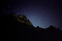 Zion National Park (somer_) Tags: zionnationalpark nationalpark outdoors adventure utah film 35mm kodak kodakektar100 southwest zion astrophotography stars nightsky