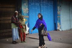 Here, hold my hand (N A Y E E M) Tags: young lady smile candid portrait oldman beggar morning street kazirdewri chittagong bangladesh sooc raw unedited untouched windshield