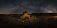 Valley of Dreams (Sandra Herber) Tags: newmexico night stars astrophotography milkyway valleyofdreams