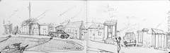 Ile d'Yeu, les cabanes du port de La Meule (Croctoo) Tags: croctoo croctoofr crayon croquis cabanes port lameule yeu