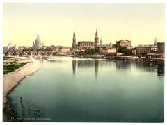 00937u (DenjaChe) Tags: dresden sachsen 1900 postcards 1900s postkarten ansichtskarten