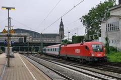 P2300032 (Lumixfan68) Tags: u2 siemens eisenbahn 64 es taurus öbb bundesbahn züge 1116 österreichische baureihe nachtzüge
