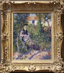 Auguste Renoir - Nini in the Garden 1876 (ahisgett) Tags: new york art museum met metropolitian