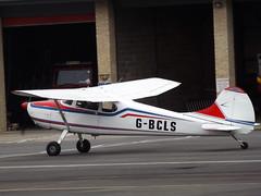 G-BCLS Cessna 170 (Aircaft @ Gloucestershire Airport By James) Tags: james airport gloucestershire cessna lloyds 170 egbj gbcls