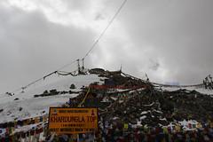 Khardungla (Shakti Priyan Nair) Tags: trip mountain snow mountains landscape cloudy outdoor pass snowcapped leh ladakh khardungla highest clouded motorable