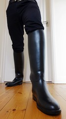 Riding Boot Wednesday (essex_mud_explorer) Tags: start riding rubberboots gummistiefel aigle ridingboots rubberlaarzen rubberridingboots reitstiefel bottesdquitation aiglestart