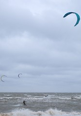 (Colin Bugg) Tags: sea norfolk windy windsurfers hunstanton choppy