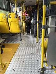 turnstiles on the buses
