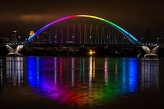 lowry bridge, minneapolis (selo0901) Tags: bridge mississippi rainbow minneapolis lowry