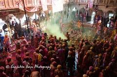 Barsana Nandgaon Lathmar Holi Low res (36 of 136) (Sanjukta Basu) Tags: holi festivalofcolour india lathmarholi barsana nandgaon radhakrishna colours