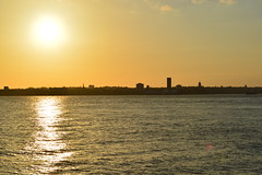 Mersey Sunset (J.Wotherspoon) Tags: sunset water river birkenhead mersey