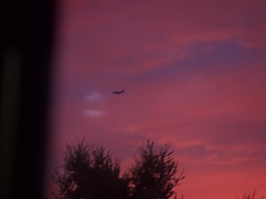 Sunset 20160620 (caligula1995) Tags: 2016 clouds colorful kitchen plumtree sunset