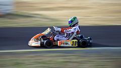 Speed Racer (onerandomredhead) Tags: longexposure speed competition racing kart driver panning petrolheads citykart