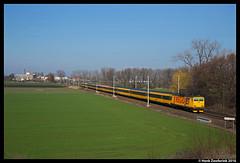 RegioJet 116, Nov Ves I 04-03-2016 (Henk Zwoferink) Tags: jet 116 henk skoda regio tsjechi regiojet zwoferink middenbohemen novvesi