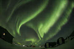 The Aurora Eagle in the Sky. (The Jattitude) Tags: sky lake storm station alaska eagle arctic nighttime research aurora toolik geomagnetic ionosphere