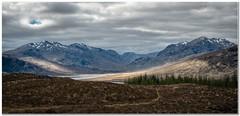 Beinn Toaig (Hugh Stanton) Tags: lake mountains forest ruins hill