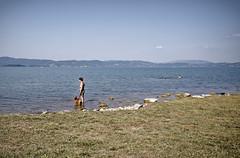 Trasimeno Lake, Umbria, Italy EXPLORED 22/06/2016 (Lifeinpicture) Tags: summer italy dog lake nature water landscape lago umbria trasimeno