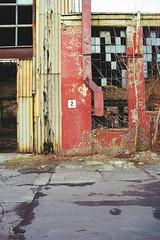 "Abandoned ""ZM Ursus"" (Analog World Thru My Lenses) Tags: abandoned zmursus forgotten nikonfa sigma2470mmf28 fujicolor200 warsaw warszawa ursus old industry antique technique"