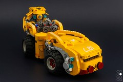 Toxi Curata JH-200av (Cole Blaq) Tags: rot brickwork coleblaq collaboration conceptart cyberpunk goldman hazmat mech mecha robot truck