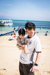 D ... (Steve Wan^_______________,^) Tags: travel love beach japan hotel monterey tiger daughter journey join wife fujifilm okinawa  x100t