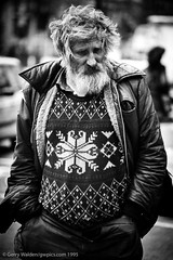 Rough Sleeper, London (gwpics) Tags: poverty male england london british man greatbritain film streetphotography 1995 people mono uk english blackwhite blackandwhite men monochrome person socialcomment socialdocumentary society strasenfotograpfie unitedkingdom bw lifestyle streetpics