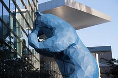 Blue Bear (assortedstuff) Tags: us education colorado technology unitedstates denver conference iste iste16