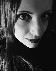 (deadoll) Tags: portrait blackandwhite self ego memyselfandi iphone selfie iphonese