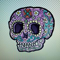 2016-07-05_12-06-15 (Viriu ( chatarra ilustrativa )) Tags: tattoo design diseo ilustration ilustracion newschool calaca mexicanskull
