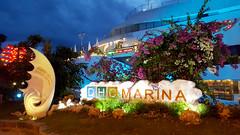 At the marina (Roving I) Tags: tourism evening design vietnam lanterns stormcloud attractions danang entrances dhcmarina happyyacht