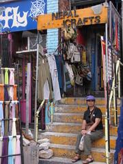 Toronto-15.44 (davidmagier) Tags: toronto ontario canada hats can shops handicrafts aruna stairways