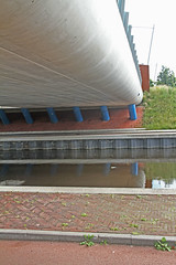 viaduct over De Vaart in Assen (willemsknol) Tags: viaduct assen vaart willemsknol