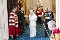 The Royal Party leave (UK Parliament) Tags: london westminster housesofparliament parliament queen monarch houseoflords houseofcommons legislation stateopening queensspeech
