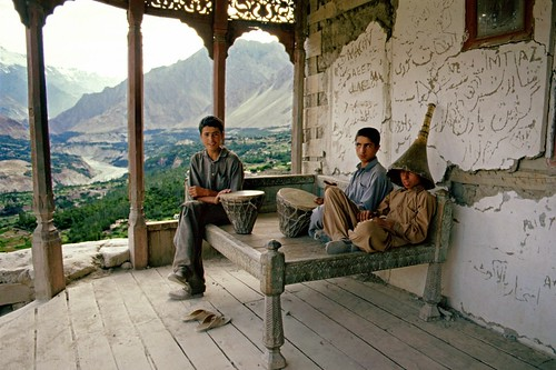 Karimabad, Hunza Valley, Pakistan, 1988