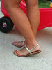 IMG_4497 (heellover91) Tags: party woman sexy feet girl foot shoes toes sandals thong flip flops strappy