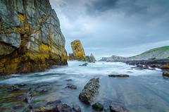 Arnia under the rain (Pablo Gomez Sal Photo&Art) Tags: costa coast cloudy mayo nublado cantabria 2013 costaquebrada hoyand400 costadecantabria laarnia