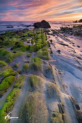Camino verde (Romero Romerito) Tags: longexposure seascape water marina movement rocks largaexposicion