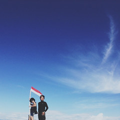 suci berani. (acionk arifin) Tags: life travelling proud indonesia island flag bluesky roadtrip adventure yesterday acionkarifin