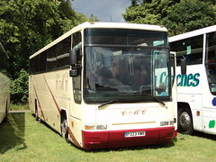 CMC Coach Hire of Middlesbrough P323VWR (yorkcoach) Tags: york races middlesbrough racecourse raceday plaxton p323vwr cmccoachhire