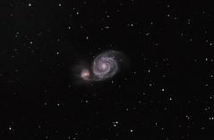 Messier 51 Pixinsight Final (jschr338) Tags: galaxy missouri astrophotography astronomy m51 lakeoftheozarks whirlpoolgalaxy pixinsight newtonianreflector messier51 atlaseqg canont2i orionf39newtonianastrograph