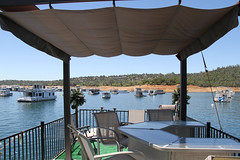 lake_oroville_june13 (8) (KrystianaBrzuza) Tags: summer lake rooftop bar houseboat deck boating pontoon oroville lawnchairs onthewater lakeoroville