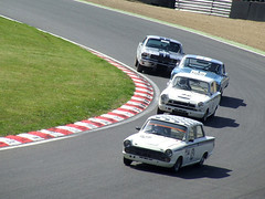 Pre 66 Touring Car - Masters Historic Festival - Brands Hatch GP - 260513 (ColeTrickle#46) Tags: brands brandshatch fordcortina 2013 mastershistoricfestival pre66touringcar
