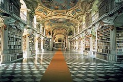 Library of the Benedictine Monastery of Admont, Austria (Iris Speed Reading) Tags: world latinamerica southamerica beautiful us amazing cool asia europe top library libraries united most states coolest inspiring speedreading