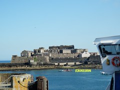 Castle Cornet (Coco the Jersey Bus & Coach driver) Tags: car st ferry island fast cargo jersey commodore portsmouth express condor sark rapid weymouth conventional freight guernsey poole clipper malo inter