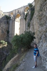 Richard under the bridge