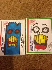 photo (20) (¡Tooth!) Tags: graffiti sticker tag slap trade trades slaptag